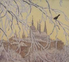 """Winter Atmosphere"" by Tavík František Šimon, 1916"