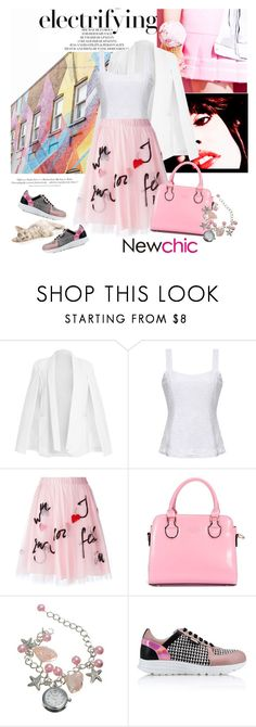 """""""Newchic"""" by anarita11 ❤ liked on Polyvore featuring Shoreditch, P.A.R.O.S.H., Karl Lagerfeld, H&M, women's clothing, women, female, woman, misses and juniors"""