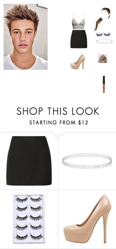 """""""hanging with Cameron dallas"""" by unicorn-923 ❤ liked on Polyvore featuring Alice + Olivia, Topshop, Steve Madden and H&M"""