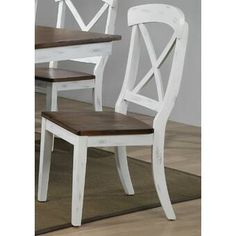 Debbra Transitional Solid Wood Dining Chair Set of 2 Solid Wood Dining Chairs, Upholstered Dining Chairs, Dining Chair Set, Dining Room Chairs, Side Chairs, Chair Types, Furniture Companies, Wood Design, Home Furnishings