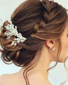 Hairdo Wedding, Creative Hairstyles, Wedding Hairstyles For Long Hair, Wedding Hair And Makeup, Up Hairstyles, Hairstyle Ideas, Pretty Hairstyles, Formal Hairstyles, Mother Of The Bride Hairstyles