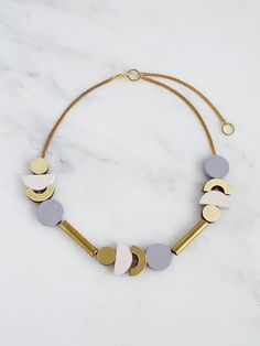 Luna I Necklace by Wolf & Moon