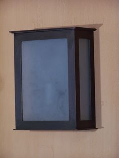 The Kanu lantern. Simple and modern. We offer the sandblasted glass as an optional extra.
