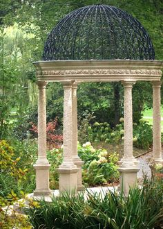 Longwood Gardens | The gazebo from the other side