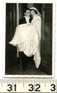Threshold Moment Bride Groom