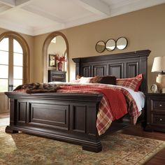 Tuscano California King Panel Bed By Kincaid Furniture Home - Kincaid tuscano bedroom furniture