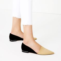 CONTRAST D'ORSAY SHOES-View all-SHOES-WOMAN | ZARA Canada