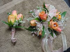 Corsages/Boutonnieres - WRC25 | Fowler's Florist & Gifts