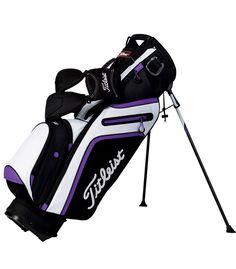 Titleist 2015 Ultra Lightweight Stand Bag Black/White/Purple TB5SX1015