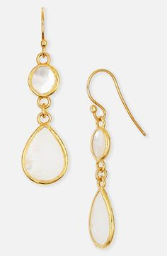 Could also wear with bangles Argento Vivo Mother-of-Pearl Drop Earrings available at Pearl Drop Earrings, Bangles, Nordstrom, Pendant Necklace, Pearls, Store, Makeup, Clothing, Jewelry