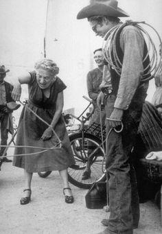 James Dean and Edna Ferber.