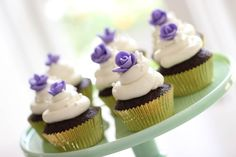 Awesome Desserts 24/7:  Chocolate Cupcakes With Easy Fondant Roses by Entertaining With Beth