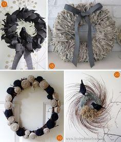 20 Fall Wreath Ideas
