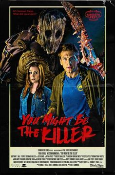 You Might Be The Killer Bande Annonce Vf : might, killer, bande, annonce, Movies, Ideas, Movies,, Horror, Movie, Posters