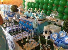 Argentina futbol Birthday Party Ideas | Photo 2 of 12 | Catch My Party