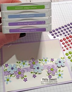Patty Stamps - Page 4 of 1569 - Patty Bennett, Independent Stampin' Up! Demonstrator since 1995 Stamping Up Cards, Sympathy Cards, Flower Cards, Diy Cards, Homemade Cards, Making Ideas, Note Cards, Cardmaking, Birthday Cards