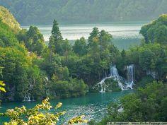 Plitvice Lakes and Falls, Croatia