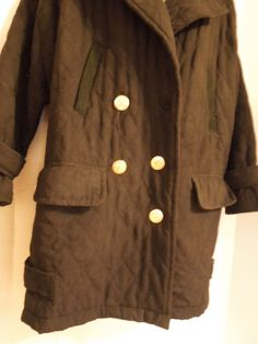Women Coat SZ M,L #SaksFifthAvenue  Exclusive #DaleDressin  Harlan Dress Quilted  #Fashion #ForSale