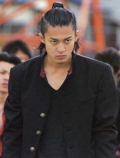 takiya genji hair real man pinterest crows zero shun oguri