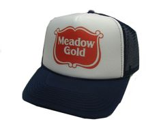 Meadow Gold Trucker Hat - Products, Business and Brands Trucker Hats & More