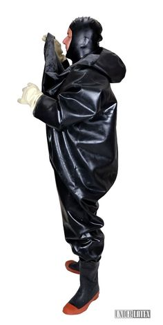 Apocalypse Costume, Hazmat Suit, Diving Suit, Heavy Rubber, Rubber Gloves, Love To Meet, Rain Wear, Overall, Catsuit