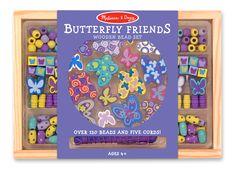 Melissa and Doug, Butterfly Friends Bead Set $10.50