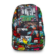 298be651432 Star Wars Comic Book Panel Backpack by Loungefly Luke.Come to the dark side  with the Star Wars Comic book strip inspired backpack by Loungefly.