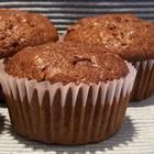 Chocolate Zucchini Muffins.  These are the BEST EVER!  Mildly spiced w/cinnamon, nutmeg, cloves & cardamom. I like to top them with chocolate chips before baking.