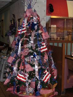 Holiday Tree made for 4th of July