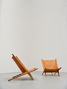 Ole Gjerlov Knudsen Saw Lounge Chairs Cado, 1958