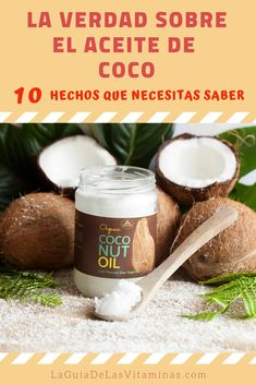 La verdad sobre el aceite de coco: 10 hechos que necesitas saber - Página 2 de 2 - La Guía de las Vitaminas Food To Make, Life Hacks, Health Fitness, Cuddle, Easy, Spa, Exercise, Amor, Health Care