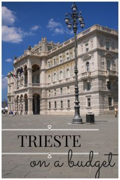 Staying in #Trieste, #Italy on the cheap