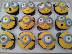 Minion cup cakes! #despicableme