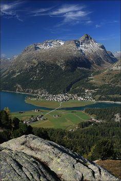 Silvaplana and Julierpass - Upper Engadin - GR - Switzerland