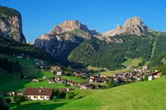 """Sëlva (German: Wolkenstein in Gröden; Italian: Selva di Val Gardena) is a comune in the Val Gardena in South Tyrol, northern Italy, located about 30 km east of the city of Bolzano. The Ladin place name derives from the Latin silva (""""wood"""")."""
