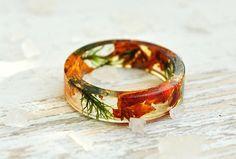 resin moss rings, moss terrarium, nature rings, nature inspired rings,  resin ring flower, resin ring , eco resin, eco resin ring,beige ring by VyTvir on Etsy https://www.etsy.com/listing/261645911/resin-moss-rings-moss-terrarium-nature