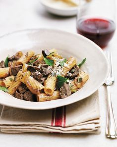 Rigatoni with Chicken Livers Recipe | Martha Stewart