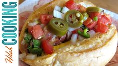 Traditional Sonoran Hot Dogs Recipe- Mexican-style Hot Dogs, ,