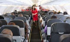 In dít gedeelte van het vliegtuig moet je nooit gaan zitten volgens een stewardess