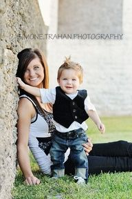 Mommy and me / 1 year old boy photography soooo doing this for jenny and gabe