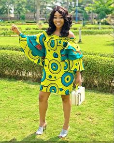 Latest Ankara Short Gown Styles for Beautiful Female.Latest Ankara Short Gown Styles for Beautiful Female African Fashion Ankara, African Print Dresses, African Print Fashion, Africa Fashion, African Dress, Ankara Short Gown Styles, Short Gowns, Ankara Gowns, African Attire