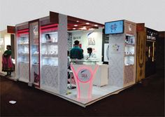 Jewelry Exhibition Stand Design : 12 best jewellery exhibition stalls images jewellery exhibition