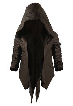 Leather hoody MINE