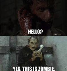 "The phone rang: | ""The Walking Dead"" Season 3 Recapped In Memes"