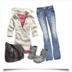 Outfit for next fall into spring...cause I know know just saying winter, is a bunch of crap!!! Hehe