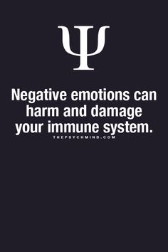 Being negative when suffering with depression can cause more ill health problems on a more frequent basis such as flu, bad colds and stomach complaints.