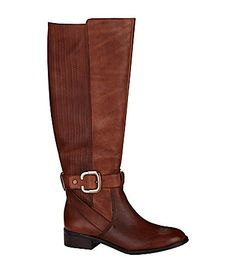 MUST HAVES!! Antonio Melani Ellen Riding Boots #Dillards