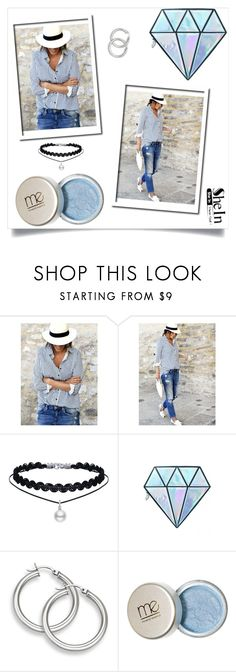 """""""London baby"""" by bacario ❤ liked on Polyvore featuring WithChic and Unicorn Lashes"""