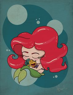 Ariel - The Little Mermaid Disney Dream, Disney Love, Disney Magic, Disney Art, Disney Family, Disney Stuff, Ariel Mermaid, Mermaid Tale, Ariel The Little Mermaid