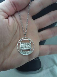 Volkswagen T 2 Bus Necklace - 925 Silver / Handmade Free Shipping and special gifts by aresPalette on Etsy Hippie Vibes, Hippie Love, Volkswagen T1, Vw Accessories, Cute Jewelry, Unique Jewelry, Diamond Are A Girls Best Friend, Handmade Necklaces, Handmade Silver